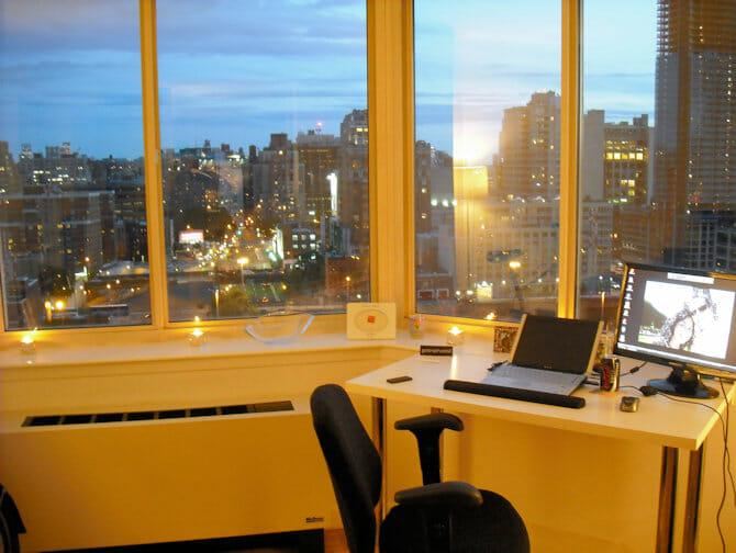 뉴욕의 일과 생활 - 아파트 경치