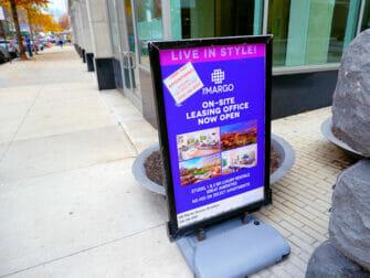 뉴욕의 일과 생활 - 아파트 렌트 광고
