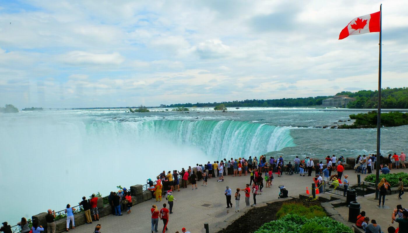 나이아가라 폭포 비행기 당일 투어 - 캐나다