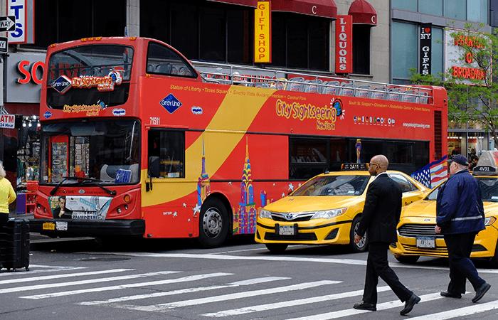 뉴욕 시티사이트씨잉 시티투어 버스 - 버스