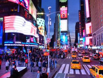 뉴욕 그레이라인 시티투어 버스 야간 노선
