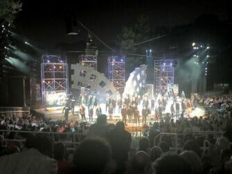 뉴욕 셰익스피어 인 더 파크 - 공연 마지막