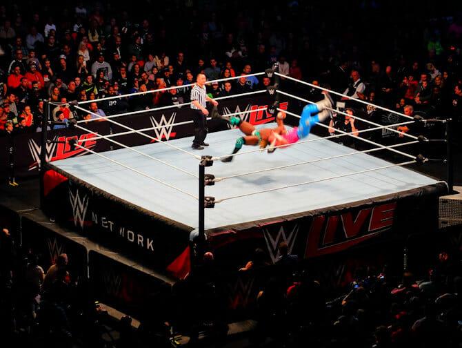 뉴욕 WWE 레슬링 티켓