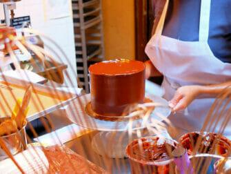 브루클린 초콜릿 투어 - 초콜릿 룸