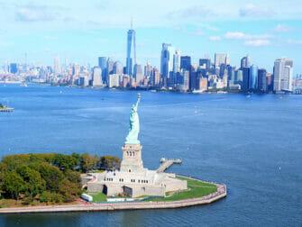 뉴욕 문 없는 헬리콥터 투어 - 자유의 여신상