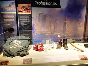 뉴욕 911 트리뷰트 박물관 - 유물