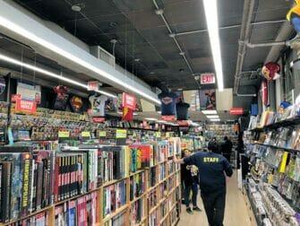 뉴욕 슈퍼히어로 투어 - 만화책 서점