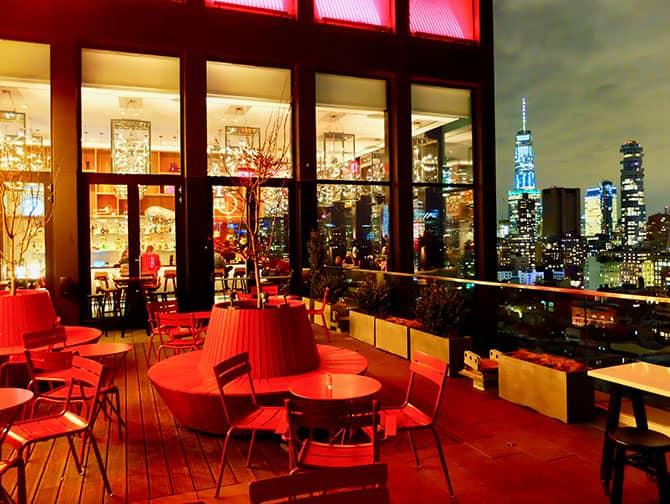 시티즌M 뉴욕 보워리 호텔 - 루프탑