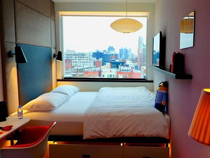 시티즌M 뉴욕 보워리 호텔 - 객실
