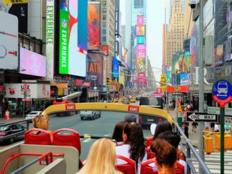 뉴욕 사이트씨잉 데이패스와 뉴욕패스의 차이 - 시티투어 버스