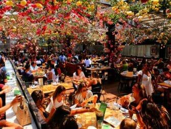 뉴욕의 레스토랑 - 비레리아 루프탑 테라스