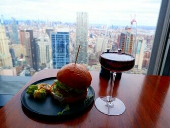 뉴욕의 레스토랑 - 맨하타의 음료