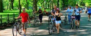뉴욕 전기 자전거 투어
