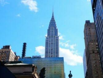 뉴욕 크라이슬러 빌딩 - 아르데코 스타일