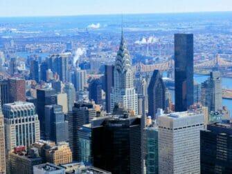 뉴욕 크라이슬러 빌딩 - 크라이슬러 빌딩 전망