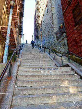 브롱크스 - 조커 계단