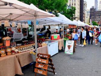 친환경 뉴욕 여행 - 유니언 스퀘어 그린마켓