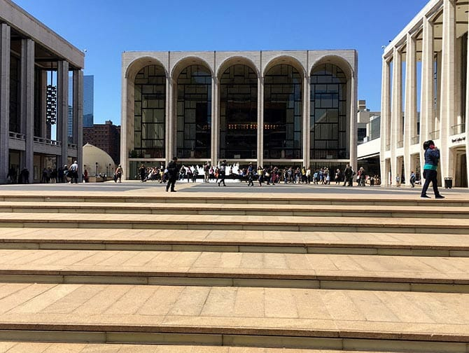 Lincoln Center in New York