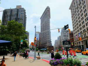 뉴욕 플랫아이언 빌딩