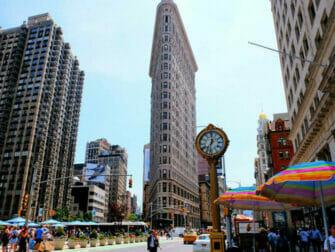 뉴욕 플랫아이언 빌딩 - 플랫아이언 빌딩의 시계
