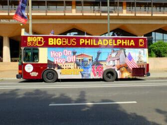 필라델피아 명소 패스 - 시티투어 버스