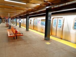 뉴욕의 지하철
