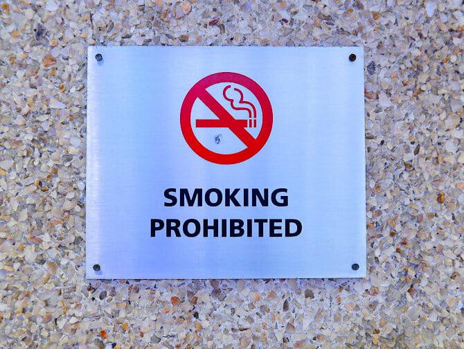 뉴욕에서의 흡연