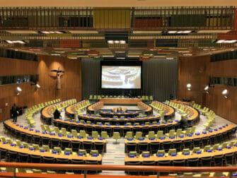 뉴욕 국제연합(UN) 본부 Trusteeship Council Chamber