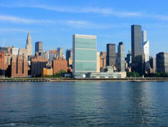 뉴욕 국제연합(UN) 본부 Chrysler Building