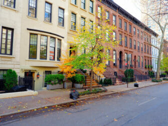 Upper East Side in New York Houses