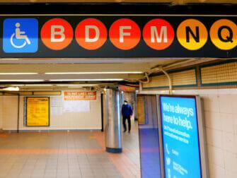 뉴욕 장애인 시설 - 지하철