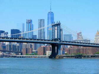 뉴욕 맨해튼 브리지 - 스카이라인