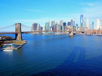뉴욕 맨해튼 브리지 - 다리