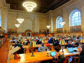 뉴욕 촬영지 - 공공도서관