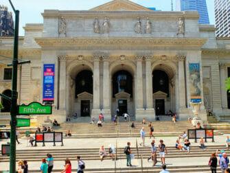 뉴욕 촬영지 - 투모로우 - 공공도서관