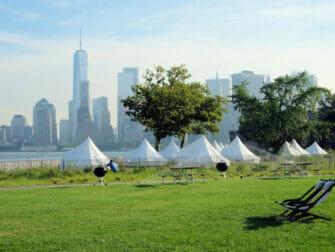 뉴욕 거버너스 아일랜드 - 텐트