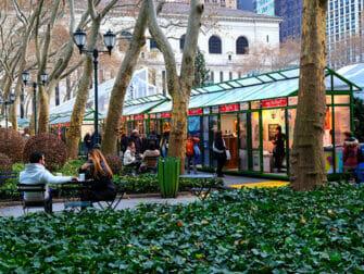 뉴욕 크리스마스 마켓 - 브라이언트 파크 마켓