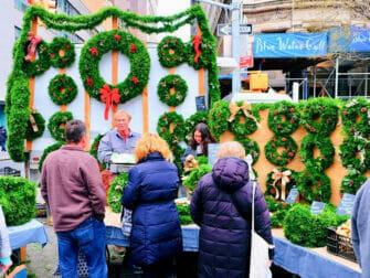 뉴욕 크리스마스 마켓 - 유니언 스퀘어 크리스마스