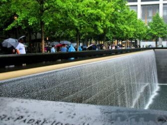 뉴욕의 비 - 911 메모리얼