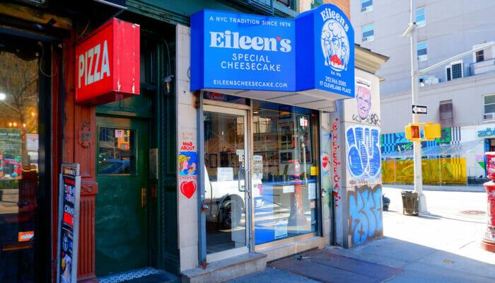 뉴욕 최고의 치즈케이크 - Eileen's Special Cheesecake