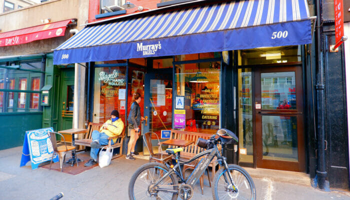 뉴욕 최고의 커피숍 및 베이글 바 - 머레이 베이글