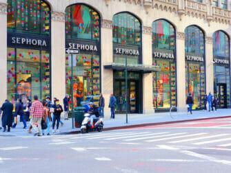 어퍼 이스트 사이드 쇼핑 Fifth Avenue