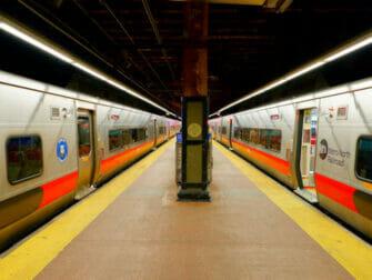 뉴욕 메트로 노스 철도 - 트랙