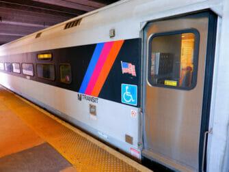 뉴욕 뉴저지 트랜짓 열차