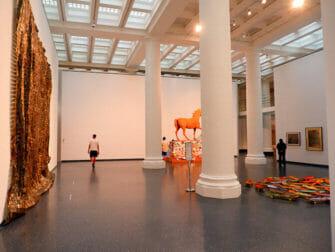 뉴욕 브루클린 미술관 - 미술관 내부