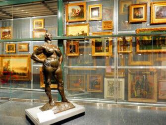 뉴욕 브루클린 미술관 - 스토리지