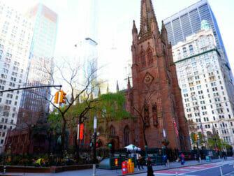 뉴욕 해밀턴 투어 - 트리니티 교회