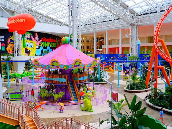 뉴욕 근처 니켈로디언 유니버스 놀이공원 티켓